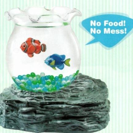 Fake swimming fish in bowl animals pet supplies pet for Fake fish that swim