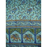 Cotton Handblock Jaipur Print Tapestry