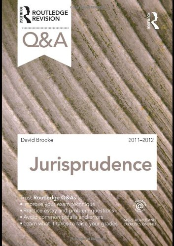 Q&A Jurisprudence 2011-2012 (Questions and Answers)