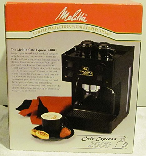 The Melitta Cafe Express 2000 Model K7953