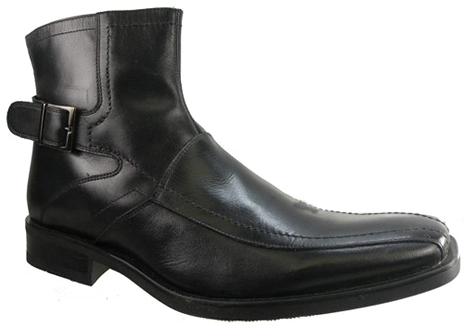 Material London Cannes Men's Boots Size US 12 Black bioinert material