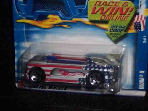Star Spangled Series #3 Deora 2 #2002-81 Collectible Collector Car Mattel Hot Wheels - 1
