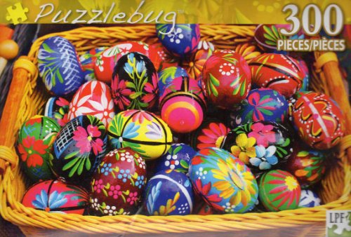 Colorful Eggs - 300 Pc Jigsaw Puzzle - NEW - 1