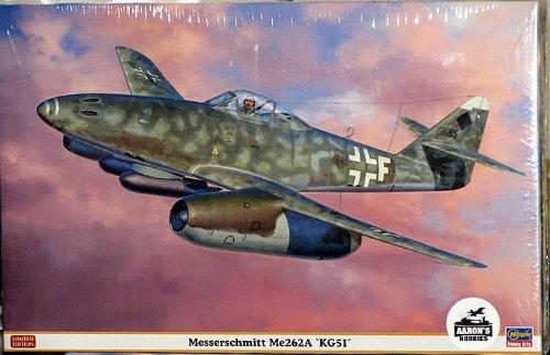 Hasegawa 1/32 Messerschmit Me262A KG51 (Limited Edition)