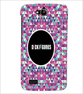 PrintDhaba Quote D-4041 Back Case Cover for HUAWEI HONOR HOLLY (Multi-Coloured)