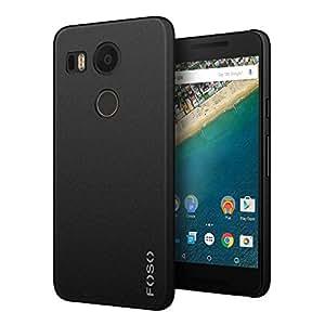 FOSO(TM) LG Nexus 5X QuickSand Back Case - QuickSand (Rough) Phone Cover Shell