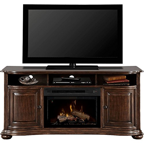 Dimplex Henderson Electric Fireplace & Entertainment Center - Realogs Firebox (GDS25L-1414HC)
