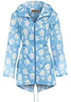 NEW SS7 Women's Shower proof Rain Mac, Blue, Sizes 12 to 22