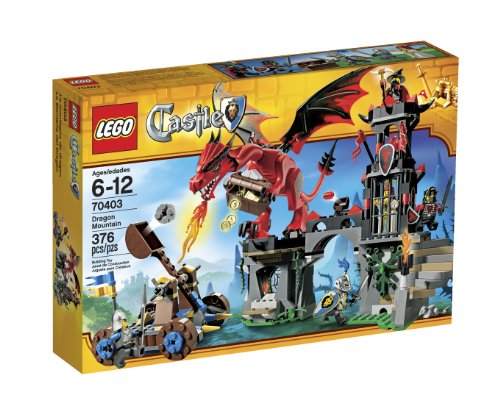 Lego Castle Dragon Mountain - 70403 Amazon.com