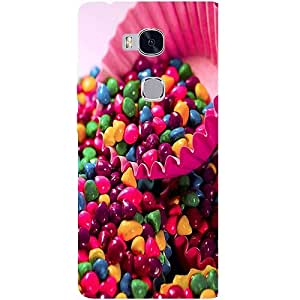 Casotec Colourful Candy Design Hard Back Case Cover for Huawei Honor 5X