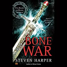 Bone War: The Books of Blood and Iron, Book 3 Audiobook by Steven Harper Narrated by P. J. Ochlan