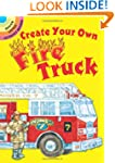 Create Your Own Fire Truck Sticker Ac...