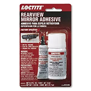 loctite 03346 rearview mirror adhesive kit 6 ml automotive. Black Bedroom Furniture Sets. Home Design Ideas