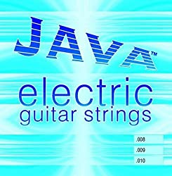 Java 215-F008 .008s Electric Guitar String Set