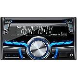Clarion CX305 2-Din Bluetooth/CD/USB/MP3/WMA Receiver 13-Segment, 10-Digits X 2-Line Display Wireless Remote Control