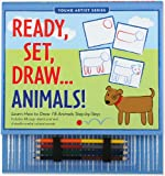 Ready, Set, Draw... Animals! (Activity Books) (Young Artist Series)