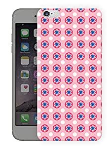 """Humor Gang Cute Simple Flower Pattern Printed Designer Mobile Back Cover For """"Apple Iphone 6 PLUS - 6S PLUS"""" (3D, Matte, Premium Quality Snap On Case)"""