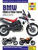 Haynes Manual 4872 BMW F800 (F650) Twins 06-10