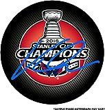 Jakub Vrana Washington Capitals 2018 Stanley Cup Champions Autographed Stanley Cup Champions Logo Hockey Puck - Fanatics Authentic Certified