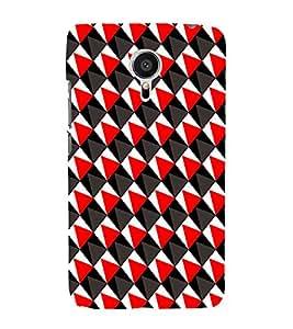 EPICCASE traingle Mobile Back Case Cover For Meizu MX 5 (Designer Case)