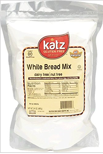 Katz Gluten Free White Bread Mix, 24 Ounce, Certified Gluten Free - Kosher - Dairy & Nut free - (Pack of 6) (Bread Reduced Calorie compare prices)