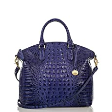 Large Duxbury Satchel<br>Turkish Blue Melbourne