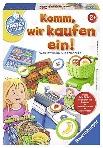 Ravensburger-Spiele-24721-Spielend-Erstes-Lernen-Komm-wir-kaufen-ein