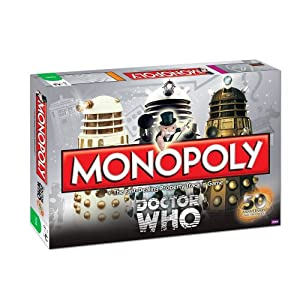 Monopoly: Dr. Who 50th Anniversary Collector's Edition