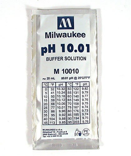 Milwaukee Instruments 10.01 Calibration Solution, Single Use Packet