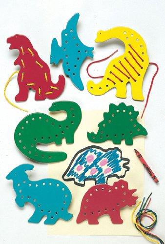 Lacing & Tracing Dinosaurs - 1
