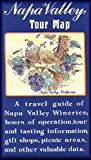 img - for Napa Valley Winery Tour Map & Guide book / textbook / text book