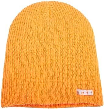 Neff Men's Daily Beanie Hat, Orange, One Size