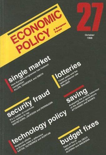 Economic Policy 27