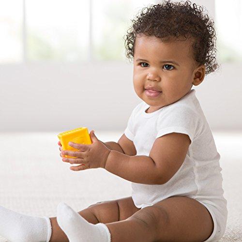 Gerber Unisex-Baby 5 Variety Pack Onesies Brand, White, 3-6 Months