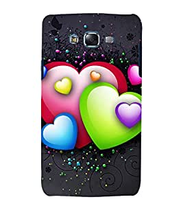printtech Love Heart Design Back Case Cover for Samsung Galaxy Grand Max G720
