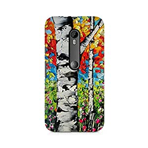 Mobicture Pattern Premium Designer Mobile Back Case Cover For Moto X Play