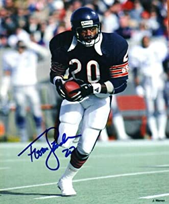 Autographed Thomas Sanders 8x10 Chicago Bears Photo