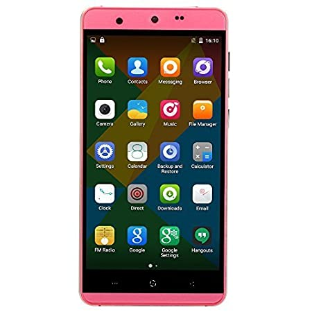 KINGZONE N5 4G Smartphone 2GB RAM 16GB ROM Android 5.1 5,0 pouces Gorilla 2,5 D Arc écran MTK6735 64 bits Quad Core 5MP 13МP caméras