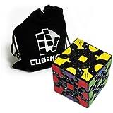 Zauberwürfel - Gear Cube - Gearcube (Zahnrad-Würfel) - inkl. Cubikon-Tasche