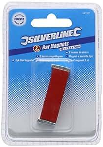 Silverline 431911 Stabmagnete, 2 Stück
