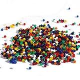 BESTOYARD 5000pcs Agua Perla Suelo de Cristal de la Planta Mágica de Perlas de Agua Cristal Barro Agua Granos de la Perla (Color Aleatorio)
