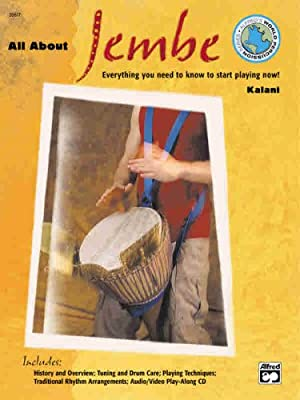 All About Jembe (Book & Enhanced CD) (Alfred's World Percussion)