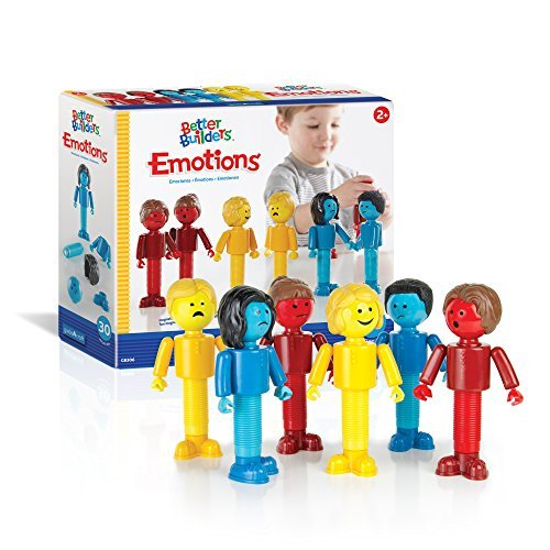 Guidecraft Better Builders Emotions Magnetic Figures, Social Emotional Learning Toy by Guidecraft