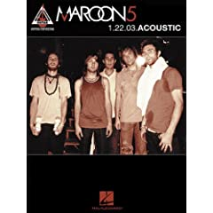 Maroon 5: 1.22.03 Acoustic  Guitar Recorded Versions  [Import] available at Amazon for Rs.707