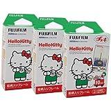 Fuji Instax Mini Instant Film Hello Kitty Cartoon (30 photos) Fujifilm 3 Packs