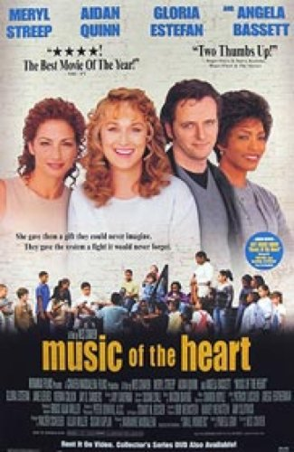 Music Of The Heart Video 27X40 Meryl Streep Poster