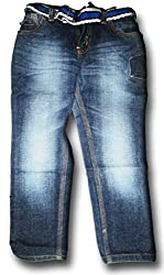 Topchee Kids' Jeans (JNK-12_Blue_7 to 8 Years)