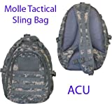 Tactical Sling Bag Backpack ACU