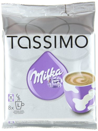 Order Tassimo Milka Hot Chocolate, Pack of 3, 3 x 8 T-Discs (24 Servings) from Mondelez