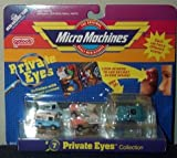 Micro Machines Private Eyes #7 Collection